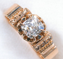Antique Cushion Cut Diamond