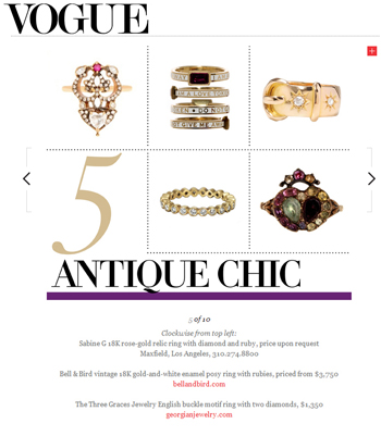 The Three Graces in Vogue Feb 2013