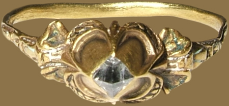 the pointed diamond - one of the earliest cuts