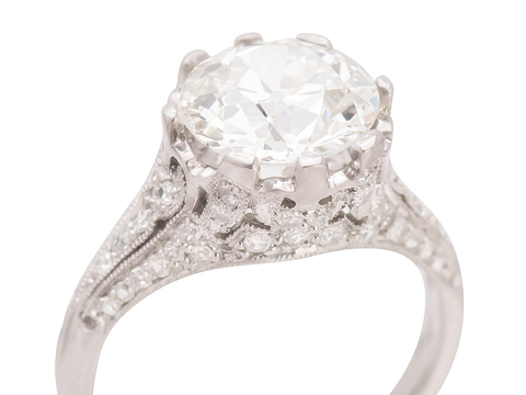 Bespoke Diamond Engagement Ring