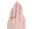 Clasp Hands - Gimmel Fede Ring