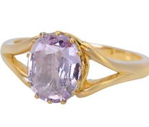 Befitting - Edwardian Pink Sapphire Ring