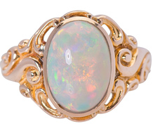 Enchantment - Opal Cabochon Ring