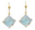 Vintage Sapphiret Drop Earrings