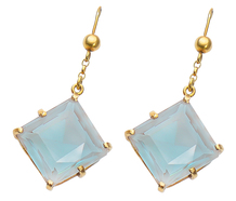 Vintage Sapphiret Drop Earrings