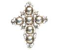 Exceptionally Rare 17th C. Diamond Cross