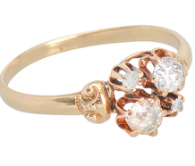 Opposite Attract - Mink Diamond Ring
