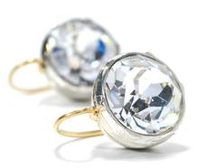Icy Sizzle - 5 c. Paste Earrings Divine