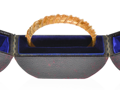 Archaeological Revival Bracelet with Box