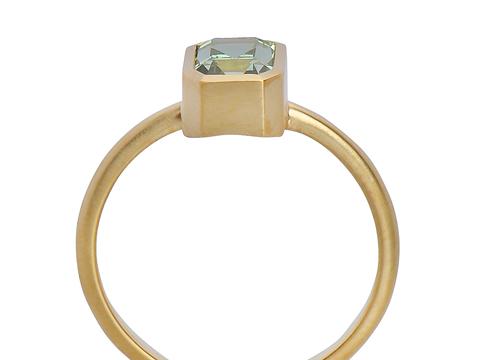 Elusive Dream - Merelani Mint Garnet Ring