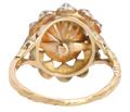 Victorian Finesse - Antique Diamond Halo Ring