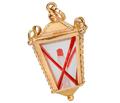 Light Your Way - Gold Lantern Charm