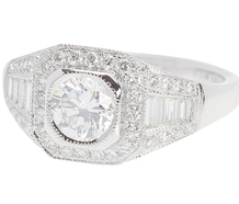 Platinum Promise Diamond Ring