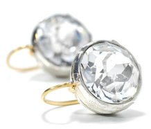 Icy Sizzle – 5 Ct. Paste Earrings Divine