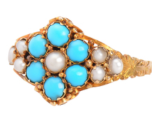 English Style - Victorian Turquoise Ring