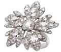 Singular Snowflake - Georgian Diamond Ring