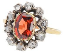 Orange Glow - Spessartite Garnet Ring
