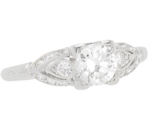 Dream On - Diamond Platinum Ring