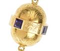 Victorian Amethyst Fringe Pendant