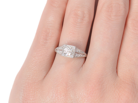S. Kind & Sons Diamond Engagement Ring