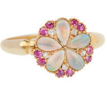 Blossoming Garden - English Antique Ring