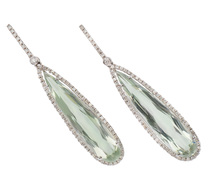 Night of Intrigue - Gem Set Diamond Earrings