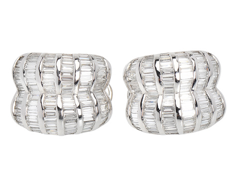 Park Avenue Flair Diamond Earrings