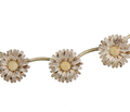 Daisy Chain - Sterling Flower Necklace