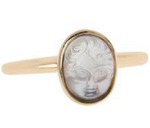 Baby Oh Baby - Edwardian Blue Moonstone Ring