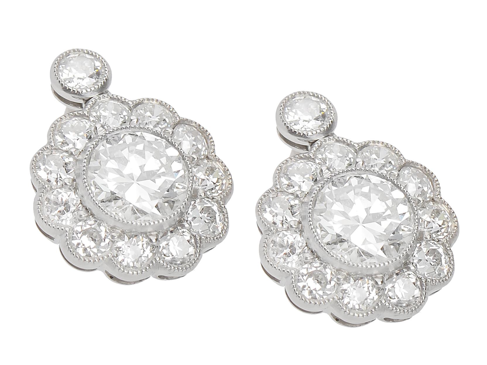 2.5ct Created Diamond Basket Stud Earrings 14K Solid White Gold ScrewBack JM16