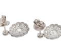 Spring Fever - Diamond Platinum Earrings