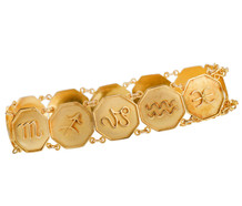 What's Your Sign - Zodiac Gold Bracelet
