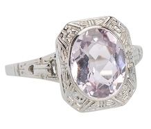 Kunzite Delight in a Vintage Ring