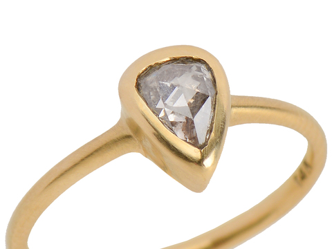 Homage to a Medieval Diamond Ring