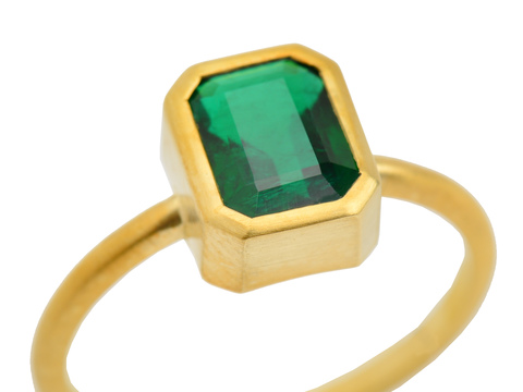 The Three Graces' Own Emerald Ring