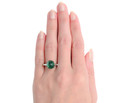 Biarritz Bauble - Exceptional Colombian Emerald Ring