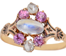 Charming Bejeweled Victorian Ring