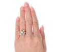Swirls & Curls - Vintage Diamond Ring