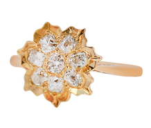 Victoria's Vanity - Diamond Cluster Ring