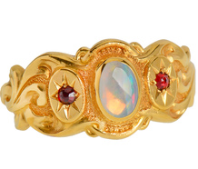 Kudos to Victoria in an Opal Ring