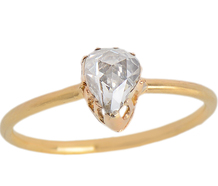 Sophisticated Rose Cut Diamond Ring