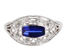 Brighten the World - Sapphire Diamond Ring