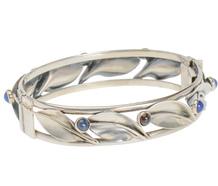Swedish Modernist Sterling Leaf Bracelet