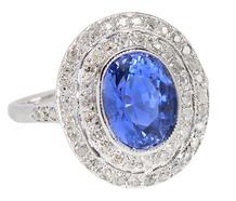 Shades of Blue - Ceylon Sapphire Ring