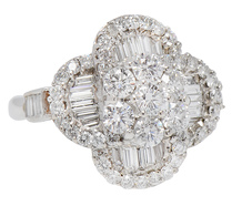Show the World - Glittering Diamond Ring