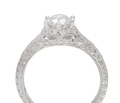Finesse - Antique Diamond Engagement Ring