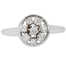 In the Round - Circular Diamond Ring