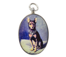 Best Friend - Vintage Sterling Pendant of a Dog
