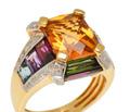 Prism of Color - Bellarri Multi Gem & Diamond Ring