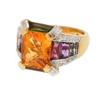 Prism of Color - Bellarri Multi Gem & Diamond Ring